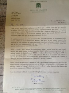 Letter to Sugarplum Children from the Prime Minister